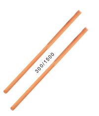 Besenstiel o.Gewinde 1,50mtr. Holz