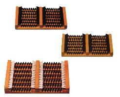 SCHUHREINIGER Holz mit Seitenleisten