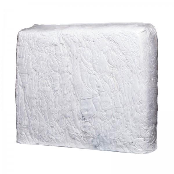 Polierleinen weiß in 10 kg Presspaketen
