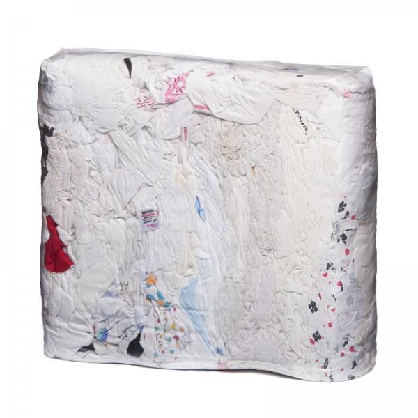 Trikot weiß mit farbigen Streifen in 10 KG
