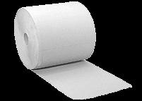 Putzpapier - Rolle Weiß | 36 x 36 cm, 4-lagig, 1.000 Blatt