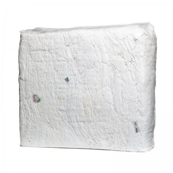 Trikot weiß in 10 kg Presspaketen