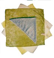 Microfasertuch Brillen-Vlies 9x18,5cm.