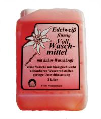 Waschmittel EDELWEISS-fl. Kanister 5 l