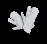 Microfaser-Handschuh 3cm dick weiß
