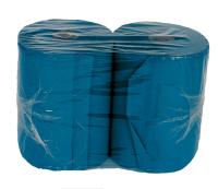 Putzpapier - Rolle blau | 22 x 34 cm, 2-lagig, 500 Blatt