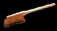 Holzhandfeger mit Kokosborsten | 45 cm lang